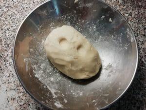 Biscotti con latte condensato - impasto