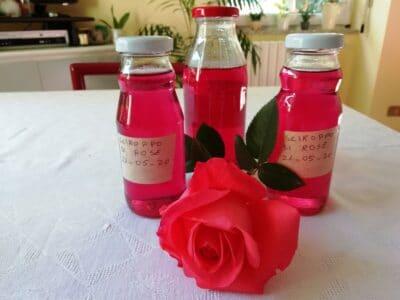 Sciroppo di petali di rosa