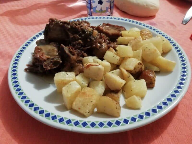 Costine di maiale in padella