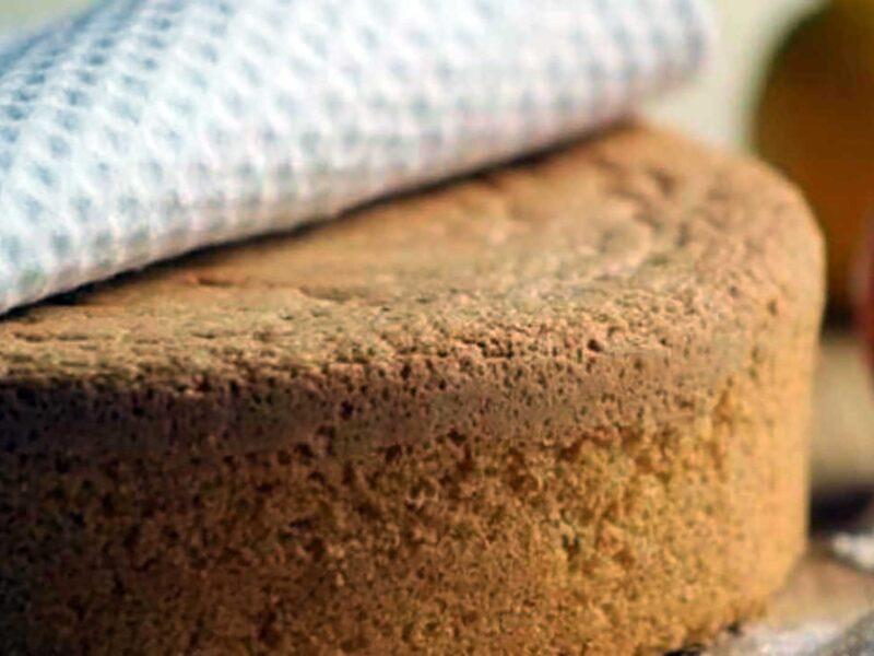 La ricetta per il pan di spagna senza bilancia