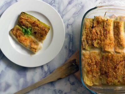 Porri al forno, una semplice e gustosa ricetta