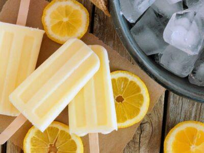 Ghiaccioli al limone, la ricetta per un gelato classico